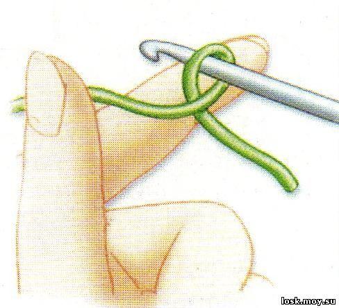 вязание манишки для детей.