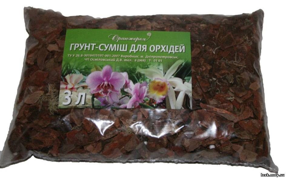 Орхидея как приготовить грунт в домашних условиях